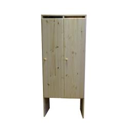 Шкаф детский в раздевалку двухсекционный