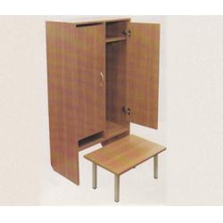 Банкетка детская к 2-секционному шкафу с нишей из ЛДСП