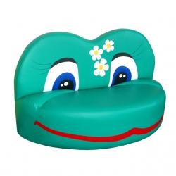 Детская мебель диван Лягушка-2 нeраскладной