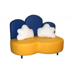 Детская мебель диван ОБЛАКА нераскладной