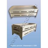 Кровать детская Пирамидка L-1200