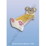 Кровать детская Мышка L-1200 (ЛДСП)