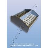 Кровать детская одноярусная Двухместная L-1400 Цветная (ЛДСП)
