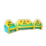 Комплект мягкой мебели «Агата» - Семицветик
